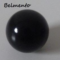 Klankbolletje zwart