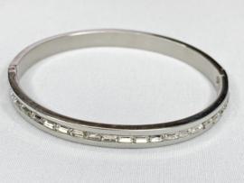 Armband staal zilverkleur