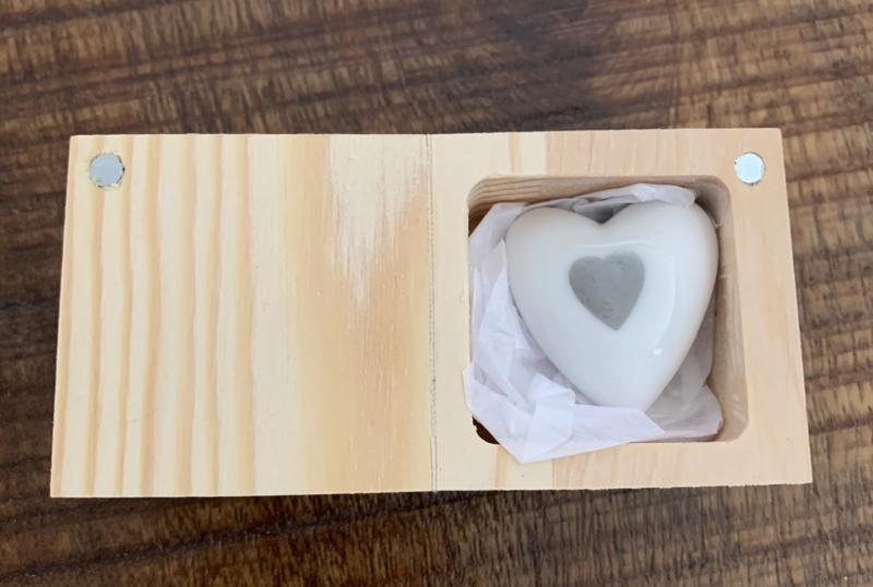 Hart in doosje