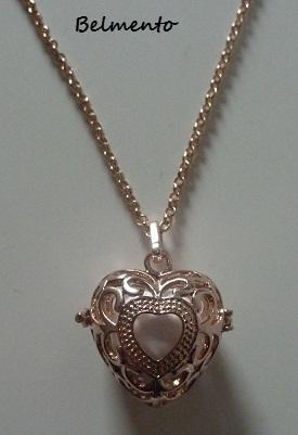 Engelenroeper hart rosekleur