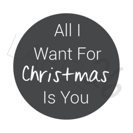 All I Want For Christmas Is You