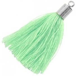 Kwastje Minty Green