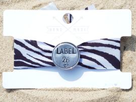 Ibiza Armband met Slagletterslider