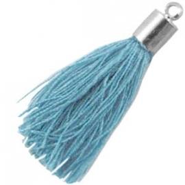 Kwastje Dusty blue