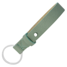 Cuoio sleutelhanger Dark Sea Mist Green