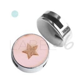 Houten Ster Pink