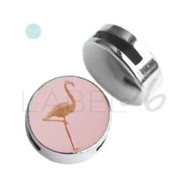 Houten Flamingo Pink