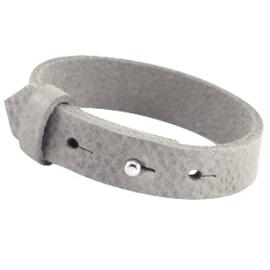Cuoio leren armband Natural grijs