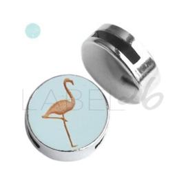 Houten Flamingo Sea Green