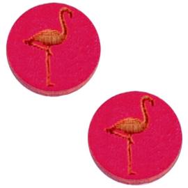 Houten Flamingo Fuchsia