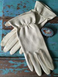 Zachtleren handschoenen