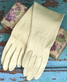 Zacht leren handschoentjes