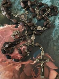 Rozenkrans met kleine medaillons