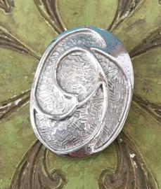 Ovale shawlklem