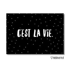 C'est la vie - Kaart