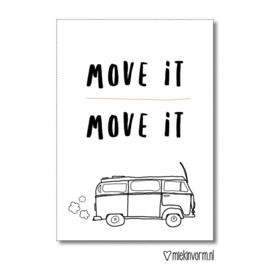 Move it - Kaart