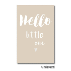 Hello little one - Mini