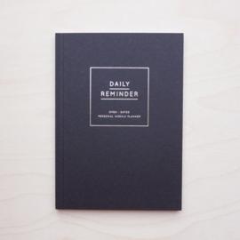 Daily Reminder - Week planner Black