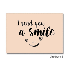 I send you a smile - Kaart