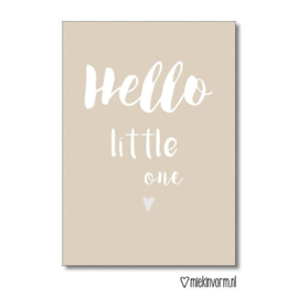 Hello little one - Poster