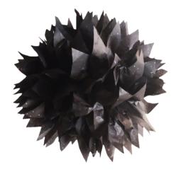 PomPom Zwart Glitter