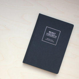 Bright Thoughts - Notebook Black
