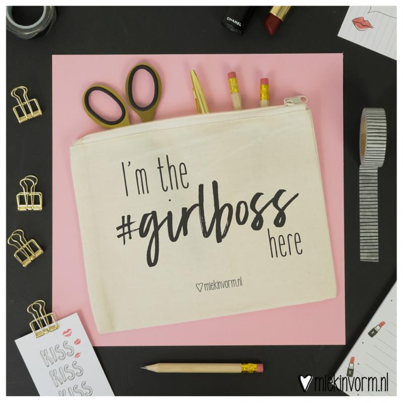 Etui ' I'm the #Girlboss here '