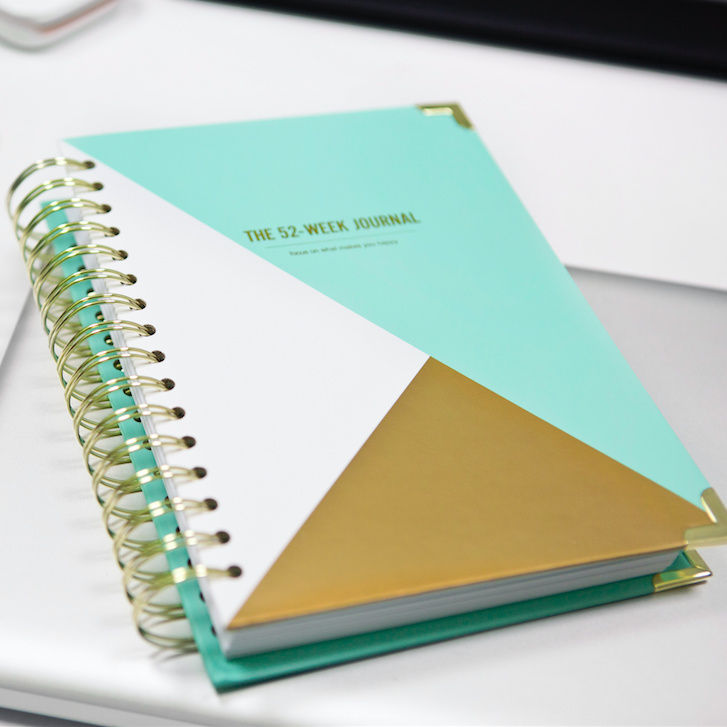 52-week Happiness journal Mint