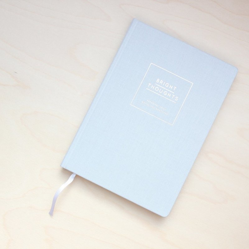 Bright Thoughts - Notebook Grey