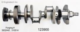 Krukas Chevy 305 / 350 -2 pice seal tot 1986 nieuw op standaard maat