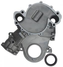 Distributie deksel met oliepomphuis AMC V8