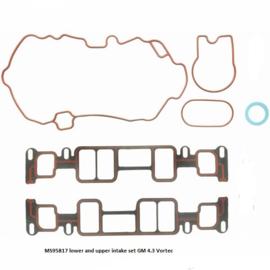 Inlaatpakking inclusief plenum set Chevy 4.3 Vortec van 1996 tot 2006