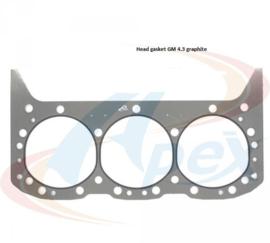 Koppakking Chevy 4.3 inclusief Vortec van 1985 tot 2006