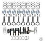 Ford 289/302 cid naar 347 cid stroker kit extern gebalanceerd