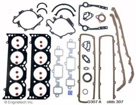 Motor pakkingset Olds 307 van 1980 tot 1990