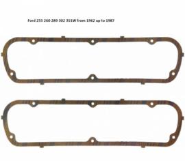 Kleppendeksel pakking Ford 260 289 302 351W van 1960 tot 1987
