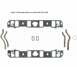 Ford 289 302 351W Marine inlaat pakking set