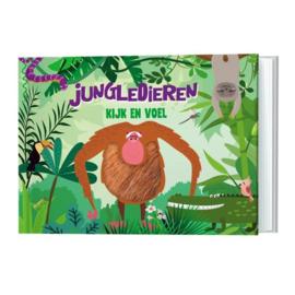 Kijk en voel boekje - Jungledieren