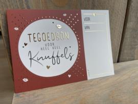 Tegoedbon - Knuffels - Wijnzinnig