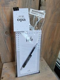 Opa stationery pakket