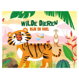 Kijk en voel boekje - Wilde dieren