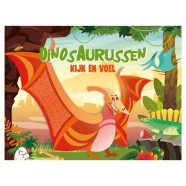 Kijk en voel boekje - Dinosaurussen
