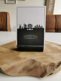 Skylinekaart A6 - Nederland - LiMo Products