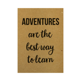 A6 - Adventures are the best way to learn - Beezonder