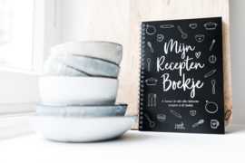 Invulboek voor al je recepten - Zoedt