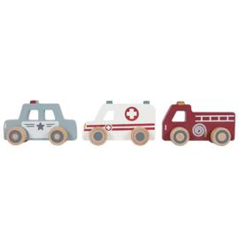 Little dutch hulpverleningsauto's 3 stuks