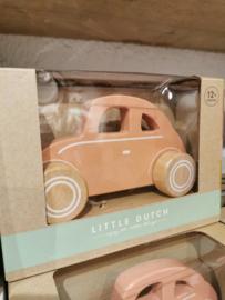 Little Dutch - Speelgoed auto Peach