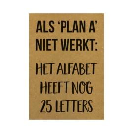 Als Plan A niet werkt - Beezonder