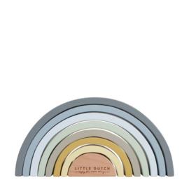 Houten regenboog blauw - nieuwe editie