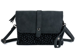Colorado Zwart schoudertasje / clutch